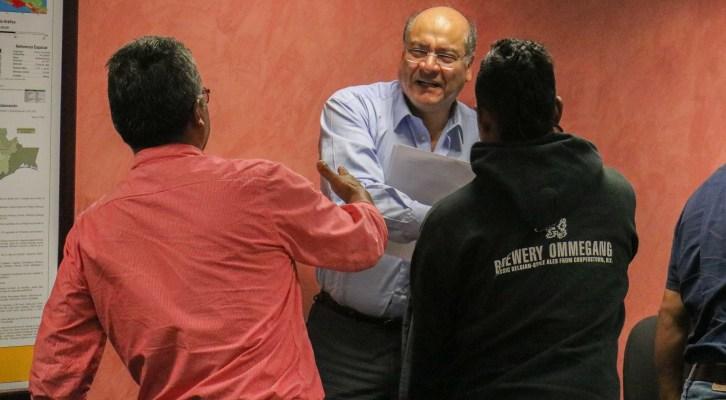 Recibe Secretario de Administración visita de autoridades municipales de Ixtlán de Juárez y la capital oaxaqueña (13:00 h)