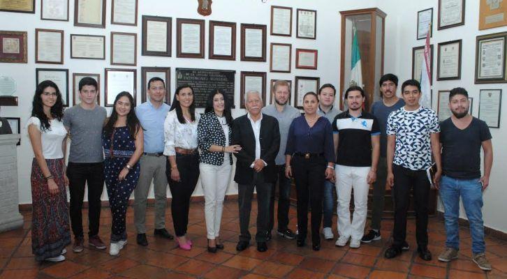 Coadyuva Municipio Capitalino en investigación de alumnos del Tecnológico de Monterrey (17:30 h)