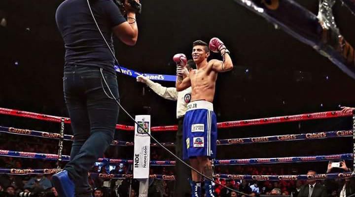 Sergio Chirino volvió a conseguir un triunfo dentro del boxeo profesional (19:30 h)