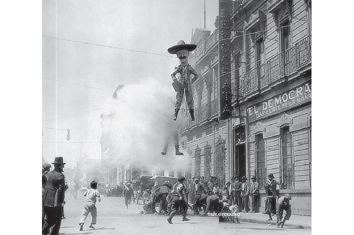 Queman Judas de Peña Nieto en México