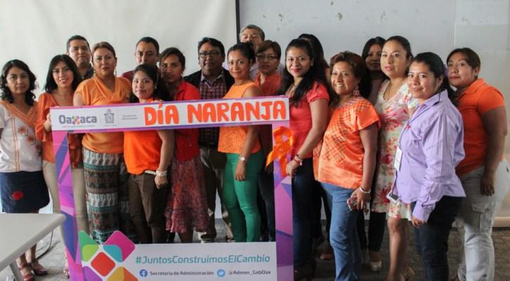 Se suma Secretaría de Administración al Día Naranja para erradicación y prevención de violencia contra la mujer (20:00 h)