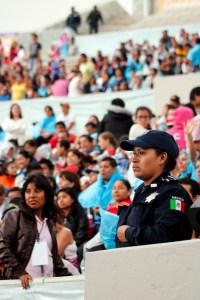 VIGILANCIA EN AUDITORIO GUELAGUETZA (ARCHIVO) (1)