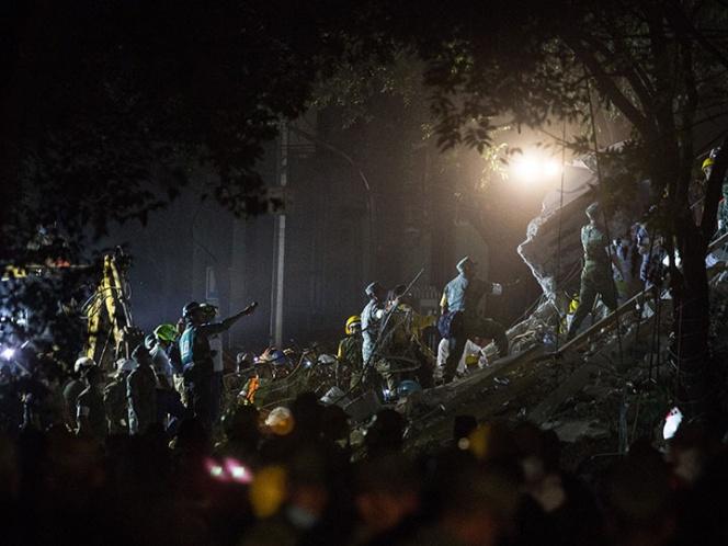 Asciende a 225 muertos por temblor de 7.1 grados en México