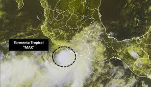 tormenta tropical max