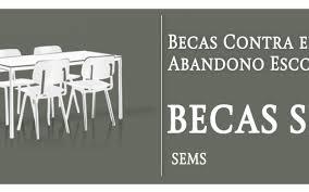 ¿Qué son las Becas Contra el abandono escolar? (19:00 h)