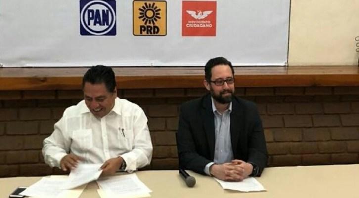 Primo hermano de Alejandro Murat va como senador suplente por la Coalición Por México al Frente (16:30 h)