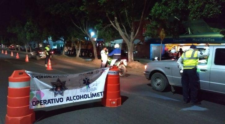 19 conductores sancionados en el operativo Alcoholímetro (12:15 h)