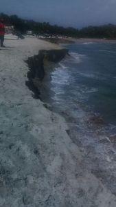 """Se presenta efecto de """"Pleamar"""" en playas de Oaxaca (2)"""