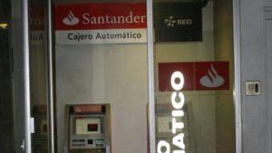 cajero automatico santander