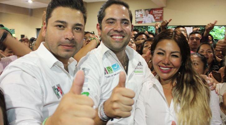 Cierre de pre campaña de Raúl Bolaños, disipa dudas sobre la fuerza del priismo en Santa Lucía del Camino (09:45 h)