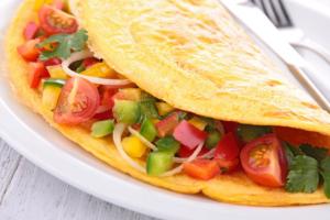 omelette a la mexicana