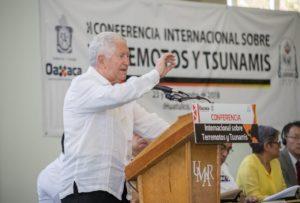 Inaugura Alejandro Murat Primera Conferencia Internacional sobre Terremotos y Tsunamis en Oaxaca 8