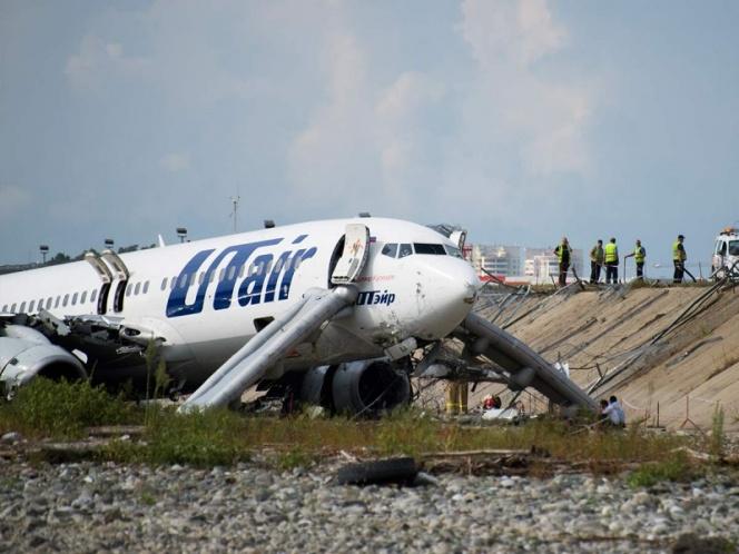 Mundo: Despiste de avión en Rusia dejó un muerto y 18 heridos