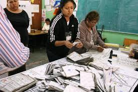 recuento de votos