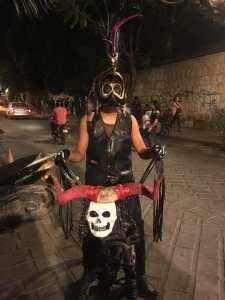 paseo bici nocturno