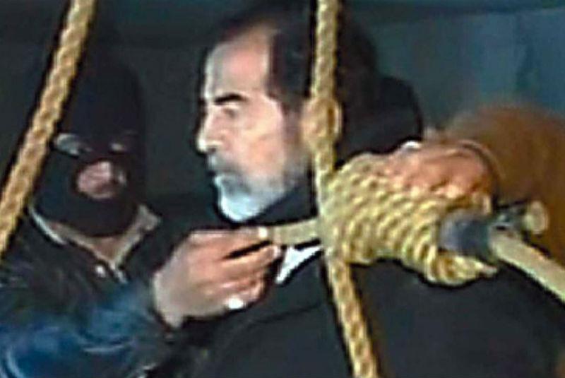 Estas fueron las últimas palabras de Saddam Hussein
