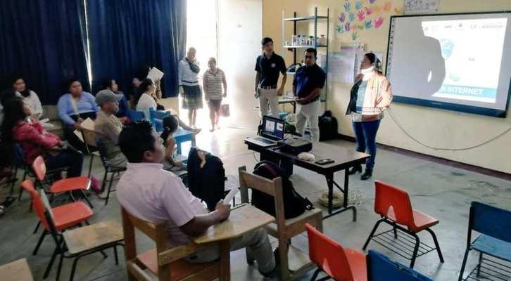 Fortalecen estrategias de prevención del delito en jóvenes de Xoxocotlán (18:30 h)