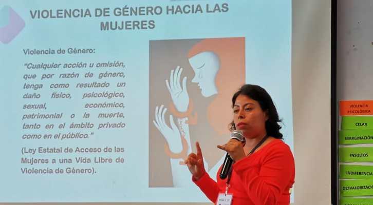 Personal de Administración comprometido a resarcir causas estructurales de la violencia de género (17:00 h)