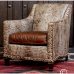 Llano Ivory Chair Leather Furniture Modern Rustic