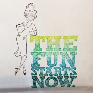 The fun starts now... at Guadalupes Fun Rubber Stamps!