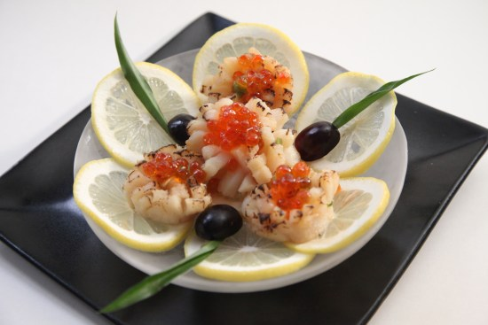 Shohko Cafe Seared Scallops: Sushi in a 200 year-old adobe house (Source: TOURISM Santa Fe)
