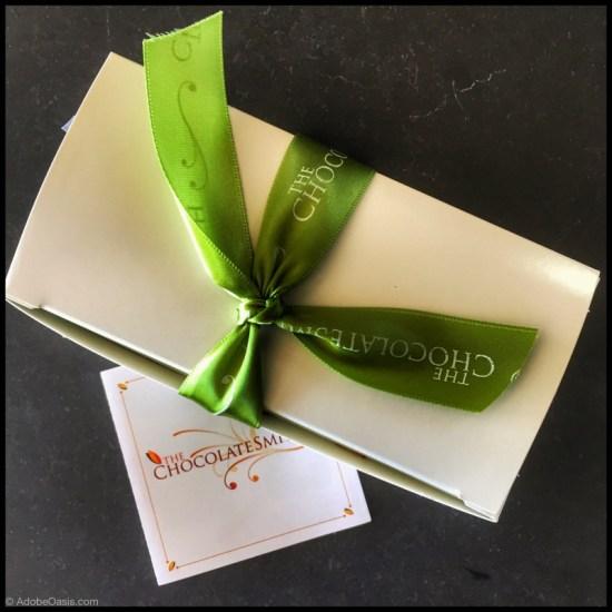Chocolate gift box from The ChocolateSmith in Santa Fe (Source: Geo Davis)