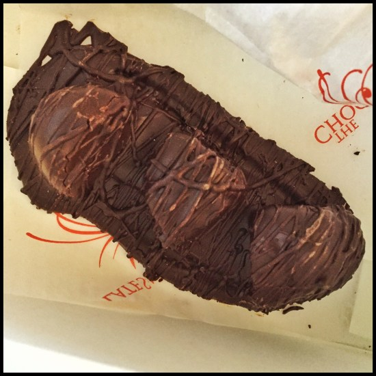 Ginger dipped chocolate from The Chocolate Smith in Santa Fe (Source: Geo Davis)