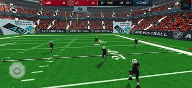 Samsung in Axis Football