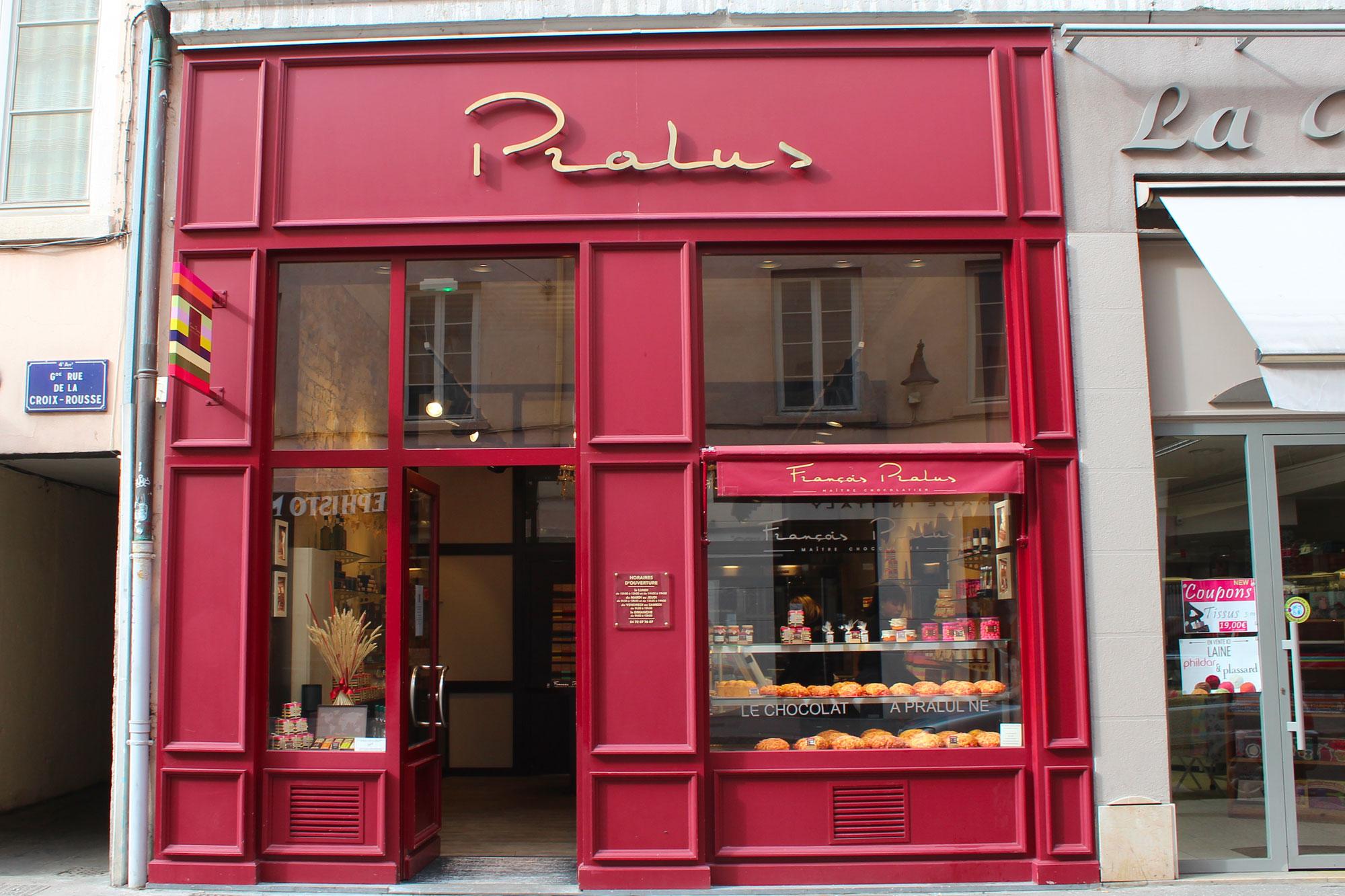 Boutique François Pralus Lyon Croix Rousse