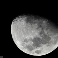 Conjunction Moon-Jupiter on 21 january 2013