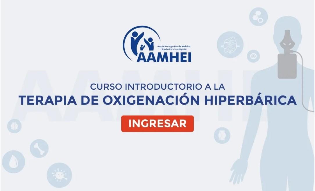 Curso digital gratuito para que profesionales de la salud conozcan los beneficios y aplicaciones del oxigeno hiperbárico