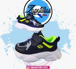 Zapatilla Deportiva Navy Niño 915