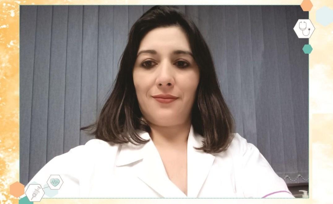 Carolina Milana, enfermera de internación domiciliaria