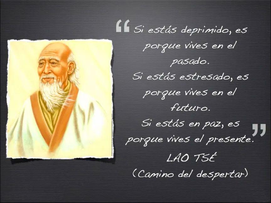 Lao Tzu, si estás deprimido