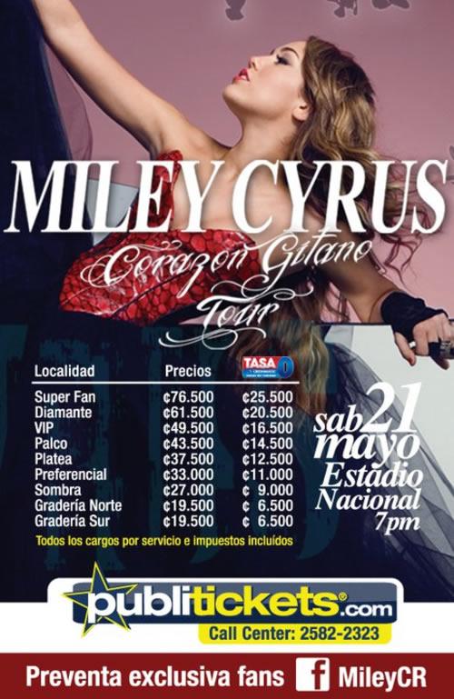 Miley Cyrus en Costa Rica - Adondeirhoy.com