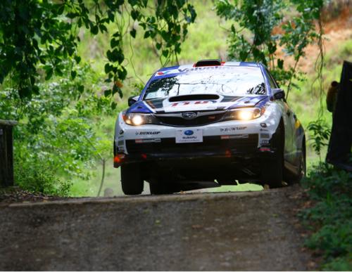 Montalto gana Rally de Jaco Subaru Impreza - Adondeirhoy.com