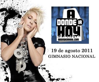 Concierto Yuri en Costa Rica - Adondeirhoy.com