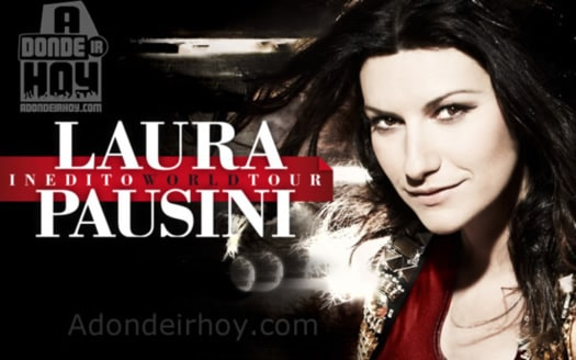 Tour Inedito Laura Pausini en Costa Rica