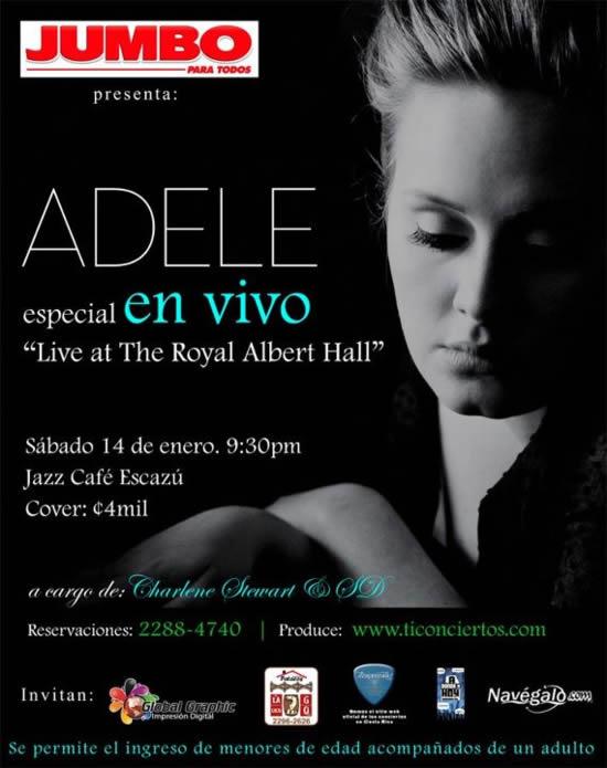 Especial Adele en vivo - Adondeirhoy.com