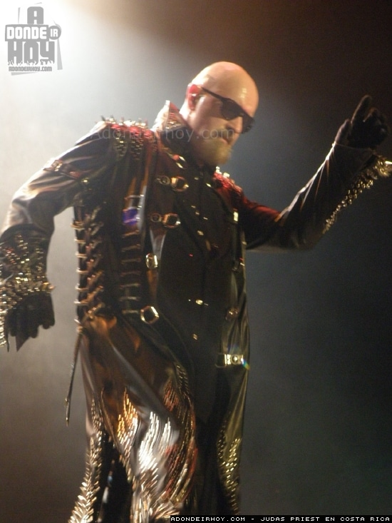 Concierto de Judas Priest en Costa Rica