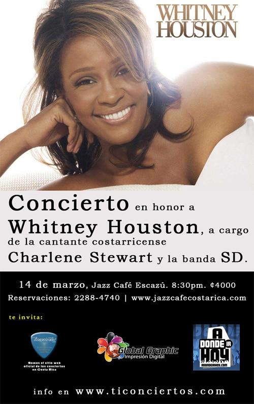 Tributo Whitney Houston - Adondeirhoy.com
