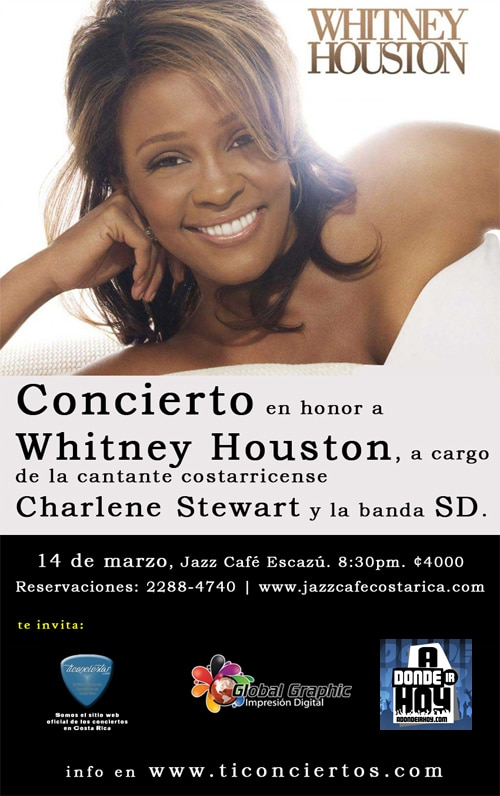 Tributo Whitney Houston - Adondeirhoy.com