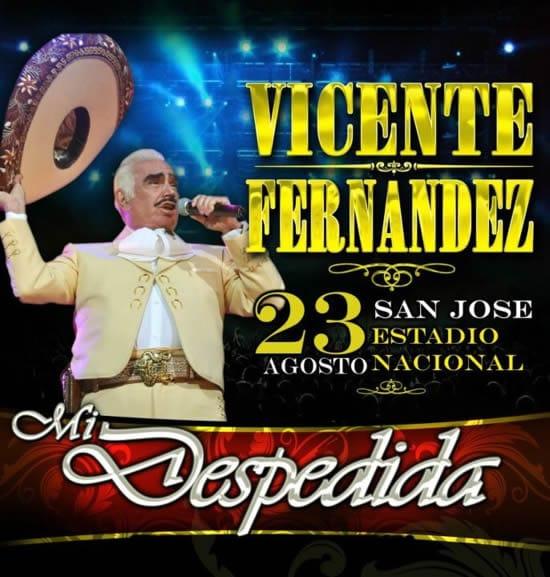 Vicente Fernandez en Costa Rica