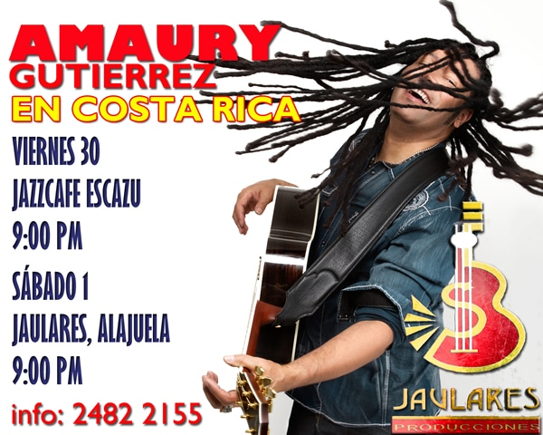 Amaury Gutierrez en Costa Rica