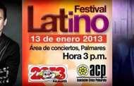 Fiestas Palmares 2013 Festival Latino con Prince Royce y Fonseca