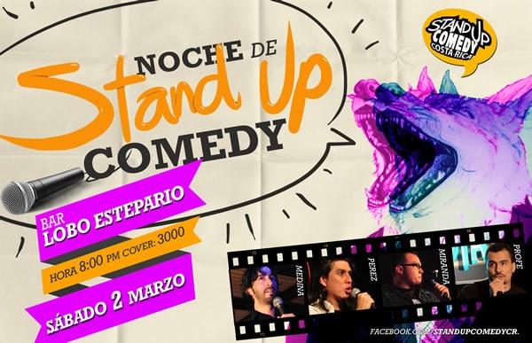 Standup Comedy Costa Rica - El Lobo Estepario