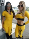 Cuarta Fecha MotorShow 2013 - Karina Arroyo y Maybeth Madrigal