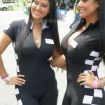 Cuarta Fecha MotorShow 2013 - Karen Brenes y Rossy Brenes