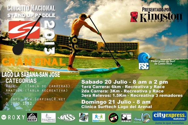 Final de Stand Up Paddle 2013