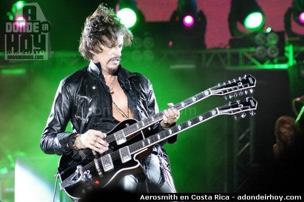 Aerosmith cambia de escenario